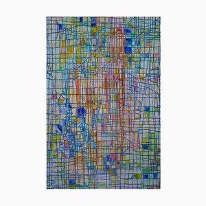 Reticulum - Ölgemälde 1995 von Giorgio Lo Fermo 2015