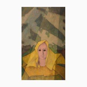 Composition 1955 - Original Oil on Canvas by Felice Casorati - 1955 1955
