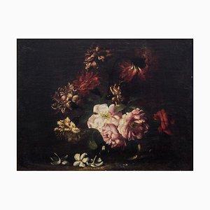 Paar FO Still Lives - Original Öl auf Leinwand von N. Stanchi - Spätes 17. Jahrhundert, 17. Jh