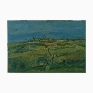 Paesaggio delle Marche - Olio su tela originale di A. Ciarrocchi - 1950 ca. 1950 ca.