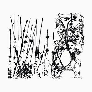 Ohne Titel - Ausdruck Nr. 1 - Original Serigraphie nach Jackson Pollock - 1964 1964