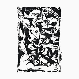Ohne Titel - Ausdruck Nr. 2 - Original Serigraphie nach Jackson Pollock - 1964 1964