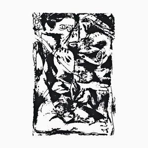 Untitled - Expression no. Sérigraphie Originale 2 Après Jackson Pollock - 1964 1964
