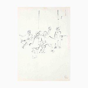 La Bataille des Boules de Neige - From ''Les Enfants'' Terribles'' - 1935 1935