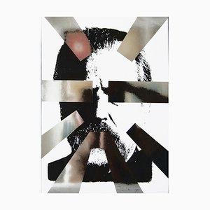 Technique Mixte Originale par M. Pistoletto - 1995 1995