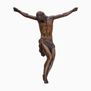 Crucified Christ - Bronze Sculpture by Anonymous School of Giambologna - 1600 17th Century
