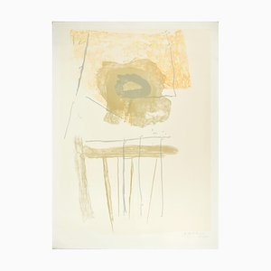 Chair - Original Lithograph by Robert Motherwell - 1972 1972