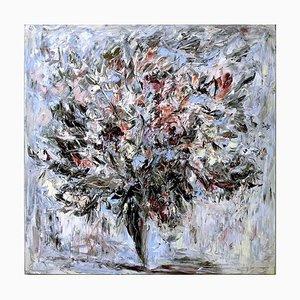 Natural Explosion - Original Oil on Canvas by Claudio Palmieri - 1986 1986