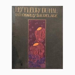 Les Fleurs du Mal de Baudelaire - Original Illustrations by A. Domin - 1920 1920