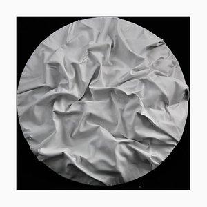 White Moon - Original Mixed Media by Paola Romano - 2015 2015