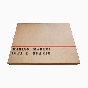 Idea e Spazio - Original Suite of Acchings di Marino Marini - 1963 1963