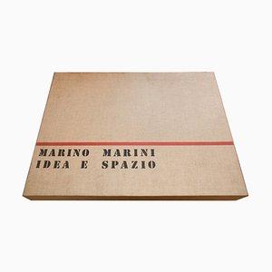 Idea e Spazio - Original Suite of Etchings de Marino Marini - 1963 1963