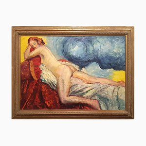 Huile sur Toile La Dea Io par Antonio Feltrinelli - 1930 1930
