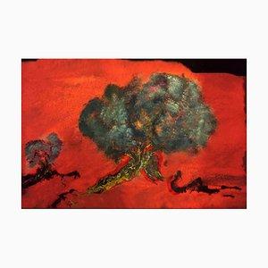 Johannisbrotbaum - Original Öl auf Leinwand von Laura D'Andrea - 2018 2018