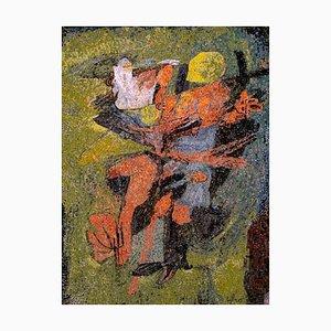 Boy with Turkey - Original Mosaik von Afro Basaldella - 1966 1955