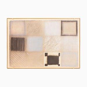 Composition - Original Mixed Media on Paper von Guido Strazza - 1979 1979