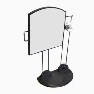 Vintage Space Age Spiegellampe