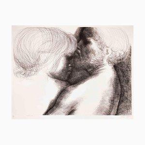 Leaving Taking No.10 - Original Radierung von Emilio Greco - 1970 1971