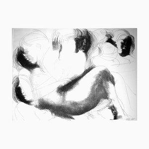 Composition No.3 - Original Etching by Emilio Greco - 1971 1971