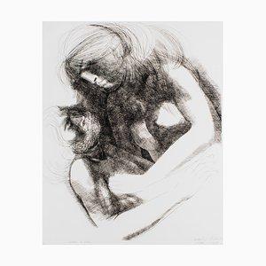Gravure à l'Eau-Forte The Emotion par Emilio Greco The Return of Ulysses - 1972 1971