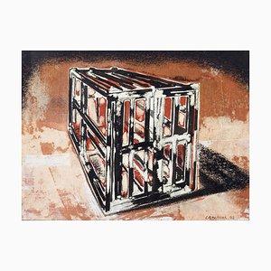 Untitled - Encre et Aquarelle Originale de Chine par F. Canovas - 2002 2002