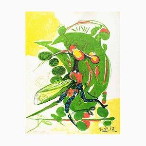Litografía Insect - Original de Graham Sutherland - 1963 1963