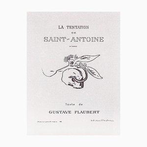 La Tentation de Saint Antoine, Original Lithographien von O. Redon - 1896 1896