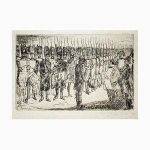 Napoleon's Farewell - Original Radierung von J. Ensor - 1897 1897