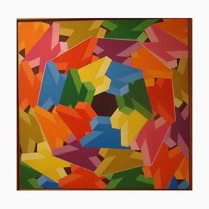 Vertigo - Acrylique sur Toile par Franco Giuli - 1989/90 1989/90