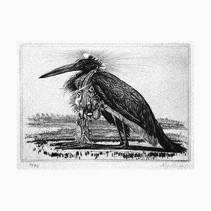 Das Grosse Tier II - Original Etching by Richard Muller - 1919 1919
