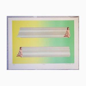 Lithographies Originale Treasure Tubes par Anthony Donaldson - 1969 1969