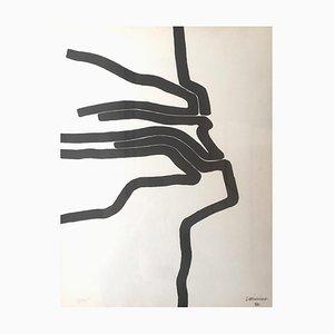 Affiche no. 78 - 1964 - Eduardo Chillida - Litografia - Contemporaneo, 1964