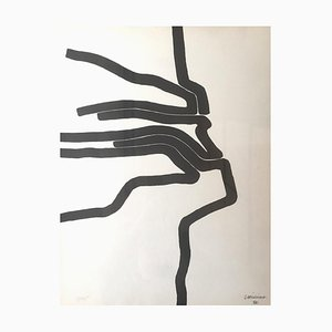 Affiche no.87 - 1964 - Eduardo Chillida - Lithograph - Contemporary 1964