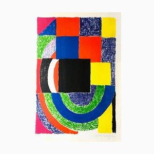 Composición - Litografía original de Sonia Delaunay - 1969 1969