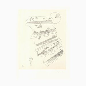 Composition 2 pour Cahiers d'Art - Original Etching by V. Kandinsky - 1932 1932