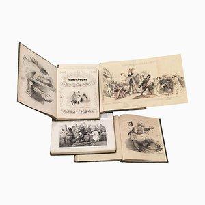 La Caricature Provisoire - Complete Series 1838/1840 - 4 vol. 1840