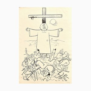 They Thunder forth from Their Cloud - Original Lithograph by George Grosz - 1922 1922