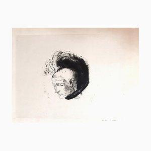 Le Mouvement Idéaliste en Peinture - Original Lithograph by O. Redon - 1896 1896