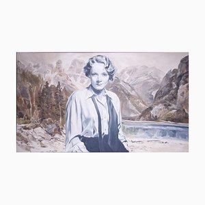 The Eternal Song 4 - Huile sur Toile par G. Montesano - 2000s 2000s