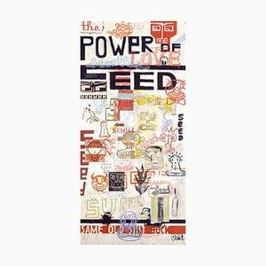 Power of Seed - Mixed Media on Board by Daniele Melani - 2003 2003
