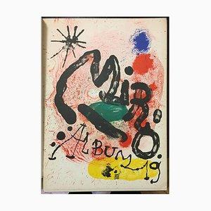 Mirò Album 19 - Original Vintage Catalogue of the Exhibition Sala Gaspar - 1963 1963