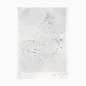 L'Ecuyère - Original Radierung von Marc Chagall - 1926/27 1926-27