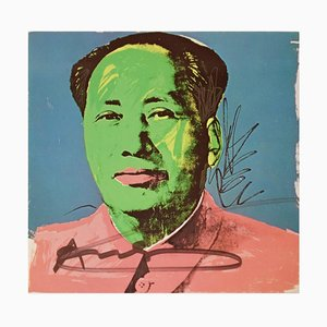 Mao Tse-Tung - Scree Print by A. Warhol - 1972 1972