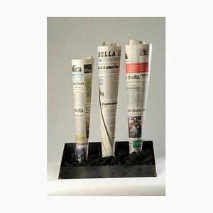 Untitled - Fabbrica - Original Mixed Media by Jannis Kounellis - 2002 2002