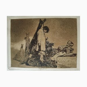 Tampoco - Original Etching by Francisco Goya - 1863 1863