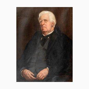 Portrait - Original Öl auf Leinwand von MA Boss - Frühes 20. Jahrhundert Frühes 20. Jahrhundert