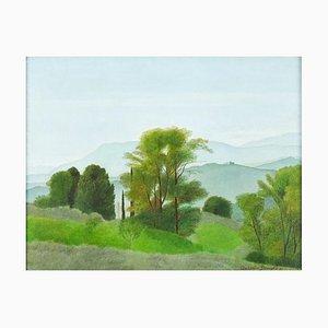 Landscape - Öl auf Leinwand von A. Donghi - 1937 1937