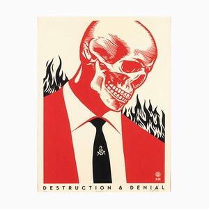 Destruction &Denial - Screen Prints by Obey Giant (Shepard Fairey) - 2017 2017