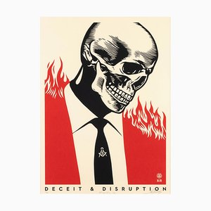 Deceit & Disruption - Screen Prints by Obey Giant (Shepard Fairey) - 2017 2017
