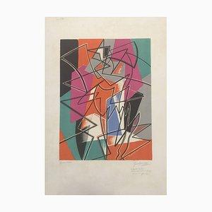 Lithographie Original par Gino Severini - Pas de Deux - 1952 1952